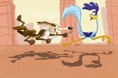 roadrunner__n__coyote__speed_drawing_by_idroidmonkey_d7ogk7p